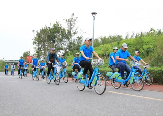 新疆乌鲁木齐经开区公共自行车租用已突破13万人次
