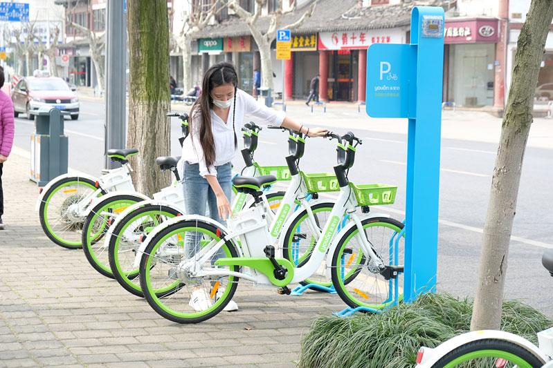 """常熟:2000辆共享助力ballbet贝博app为城市复苏""""加油"""""""